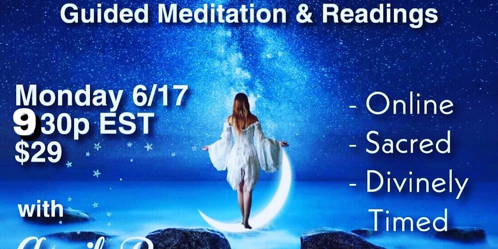 Full Moon Release & Heal Guided Meditation & Readings