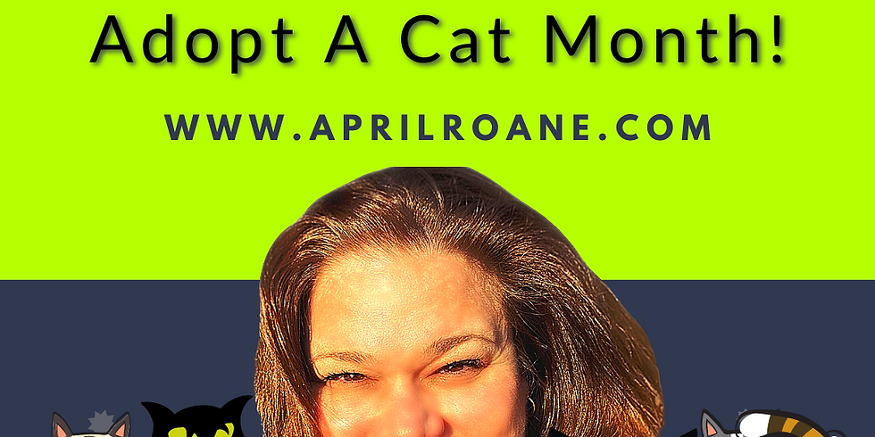 June is National Adopt A Cat Month!
