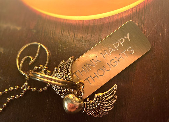4-In-1 Happy Thoughts Angel Necklace