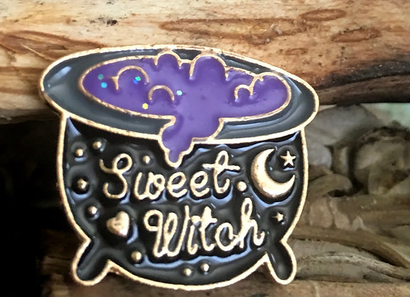 'Sweet Witch' Pin