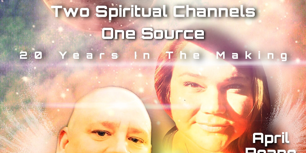 12/21/20 Two Spiritual Channels. One Light. LIVE Channeling Event: April Roane and David Majere