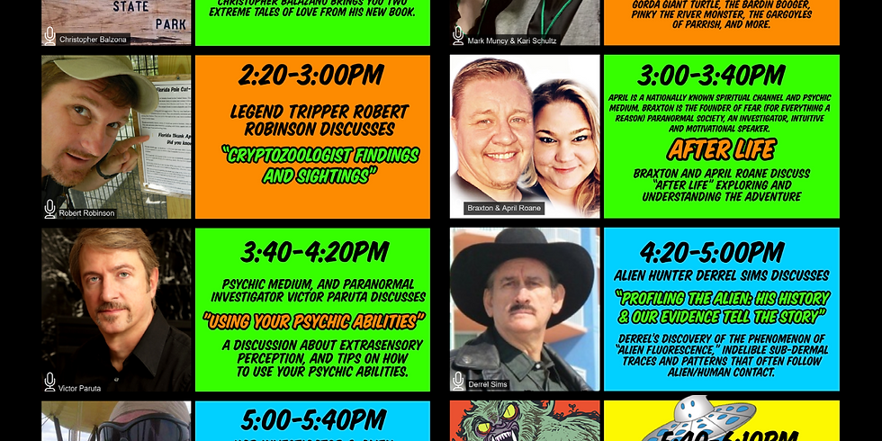 SWFL UFO PARANORMAL CONFERENCE