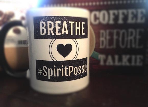 BREATHE #SpiritPosse Mug