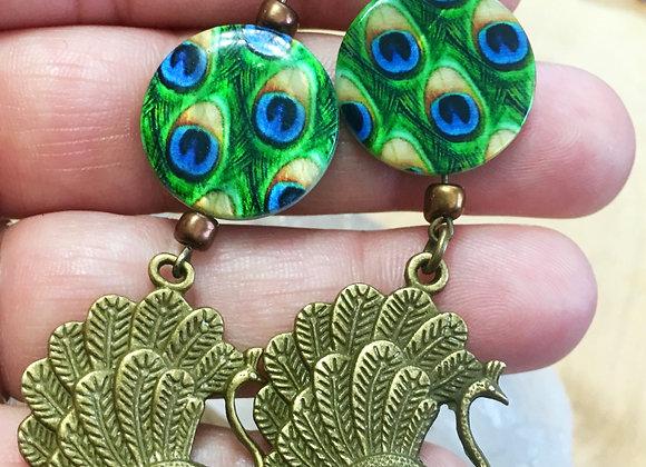 Peacock 🦚 Earrings