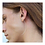Thumbnail: Brinco Curvinha Diamante Negro - Unidade