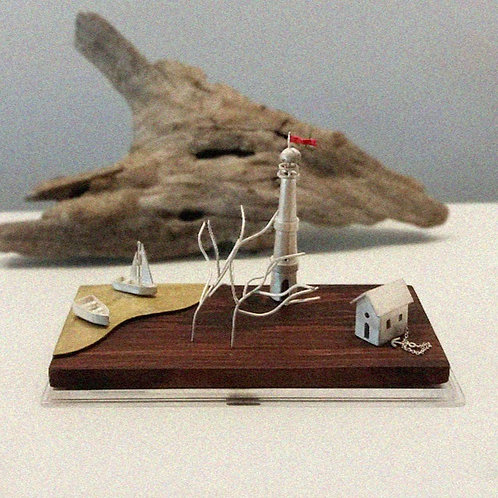 Escultura Mundinho Dois Amores