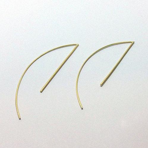 Brinco Line Ouro - G