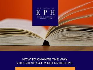 เรียน SAT MATH ให้ได้ 800 เต็มง่ายๆ แค่เปลี่ยนสไตล์การทดเลข!