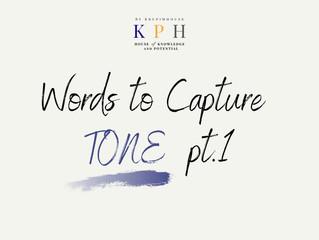 เรียน SAT/ ติว SAT VOCAB : รวมคำศัพท์หา TONE ของผู้เขียน (Words to Capture Tone) Part 1