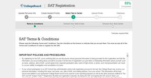 ขั้นตอนการสมัครสอบ SAT