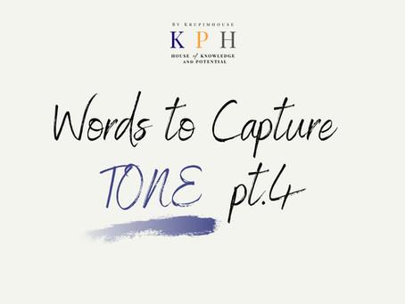 เรียน SAT/ ติว SAT VOCAB : รวมคำศัพท์หา TONE ของผู้เขียน (Words to Capture Tone) Part 4