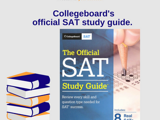 5 BEST SAT TEXTBOOKS ( รีวิว 5 หนังสือ SAT ที่ดีที่สุด)