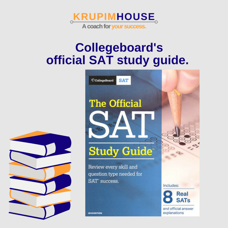 collegeboard's official SAT study guide