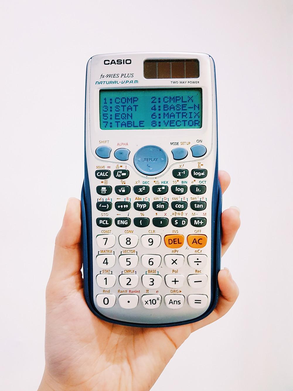 เครื่องคิดเลข สอบ SAT