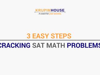 3 easy steps ทำโจทย์ SAT MATH การันตี ทำถูกทุกข้อ!!