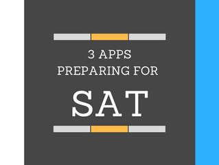 3 APPLICATIONS PREPARING FOR SAT! (3 แอพลิเคชั่น สอบ SAT ผ่าน!)