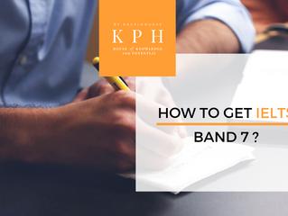 How to get IELTS Band 7 (IELTS ทำอย่างไรให้ได้ IELTS Band 7)