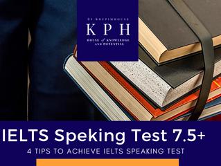 เจาะลึก IELTS Speaking Test พูดยังไงให้ได้ 7.5+
