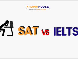 SAT vs IELTS! วางแผนสอบอย่างไรดี?