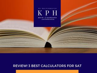 (รีวิว เครื่องคิดเลข) เครื่องคิดเลข 3 รุ่นที่ดีที่สุด สำหรับสอบ SAT