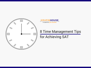 8  Time Management Tips for Achieving SAT ( 8 เทคนิค บริหารเวลาเอาชนะ SAT)