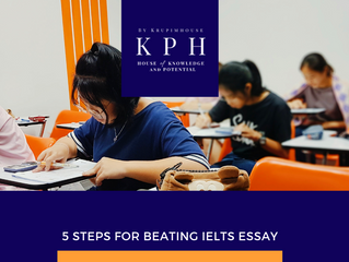 5 steps เขียน Essay ให้ปัง คะแนน IELTS รั้งไม่อยู่แน่นอน!