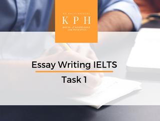แจก Essay IELTS Task 1