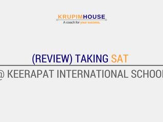 (รีวิว) สอบ SAT ที่ Keerapat International School