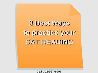 3 วิธี ฝึกทำโจทย์ SAT READING ได้ดีที่สุด