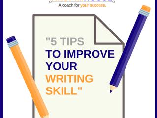 5 วิธี พัฒนา skill การเขียน writing ( 5 tips to improve your writing skill)