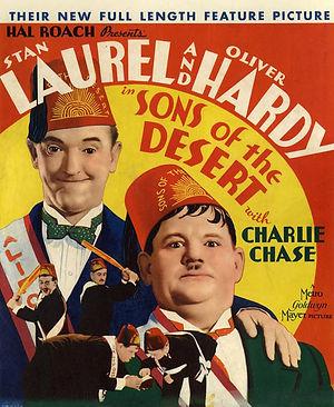 sons of the desert movie poster