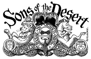 Sons of the Desert escutcheon by Al Kilgore