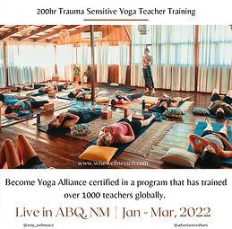 Trauma Sensitive Yoga Teacher Training