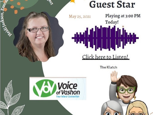 The Klatch pack welcomes you to social engagement every second and fourth Tuesday at 3pm on VOV!