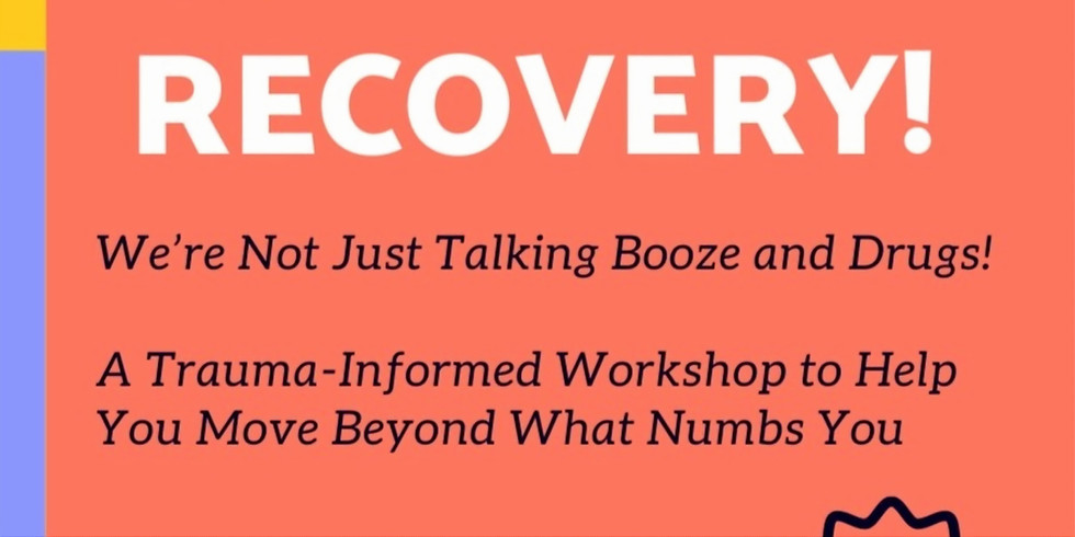 Resilience in Recovery: REGISTRATION IS CLOSED.