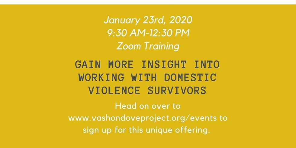 Domestic Violence Therapist Training - 3 FREE CEUs