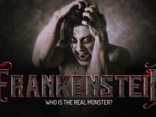 Kim stars as the Creature in Frankenstein @ Dallas Theater Center