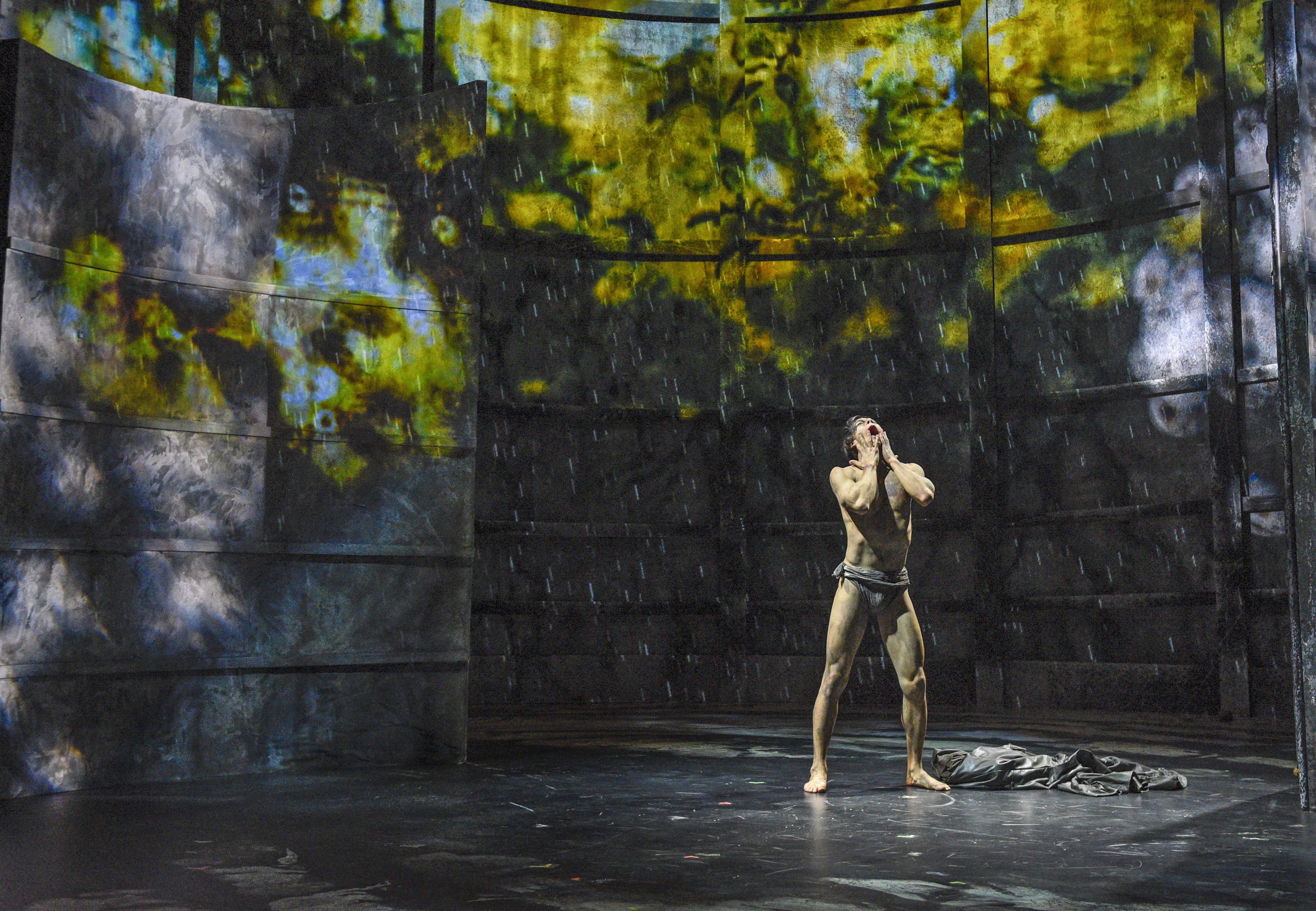 Frankenstein, Kim Fischer as The Creature - Photo by Karen Almond