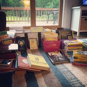 Konmari Challenge: Books