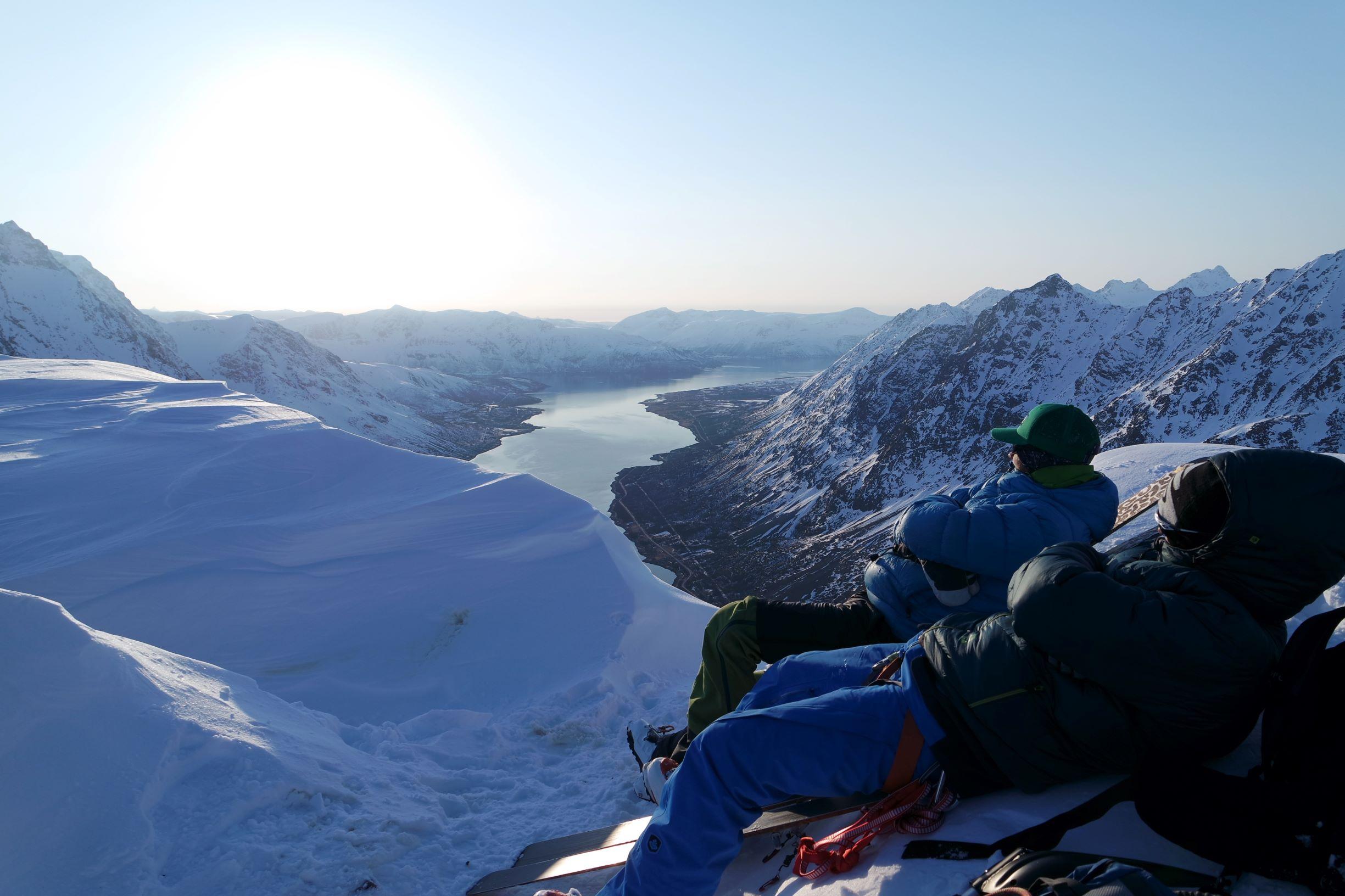 Skitouring Lyngen