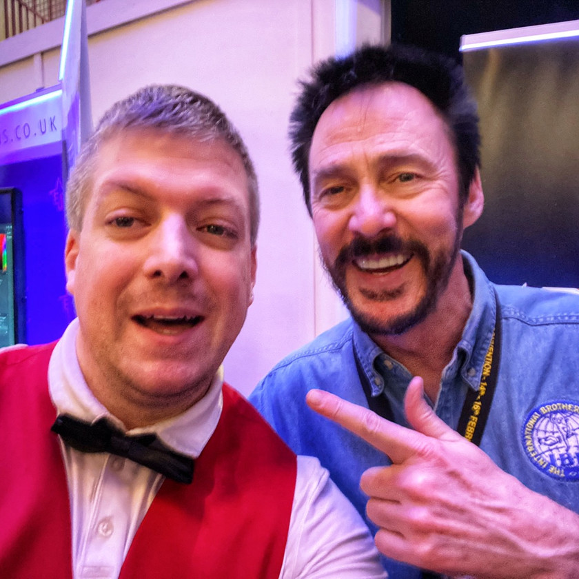 Magic Maxli und Lance Burton Blackpool