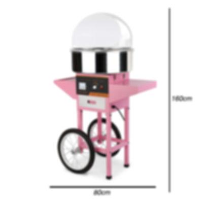 Die Zuckerwattemaschine grösse 160x80 cm
