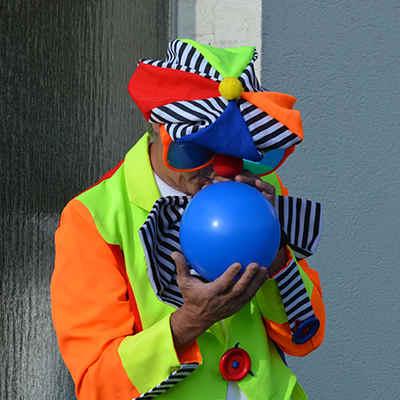 Clown mieten für Kinderparty