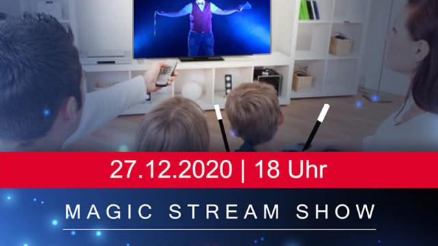 Magic-Stream-Show Kinderzaubershow für die ganze Familie