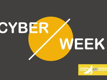 Die CYBER WEEK mit 50%