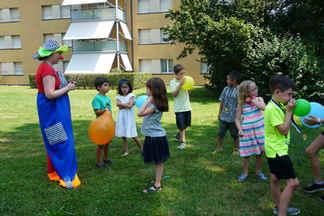 Kindergeburtstags Clown mieten