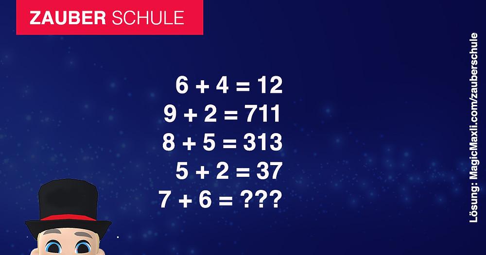 Mathematik Aufgabe schwierig