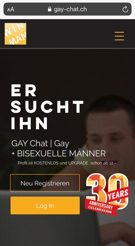 WinMan Gay Chat Deutschland Österreich Schweiz Schwulen Chat