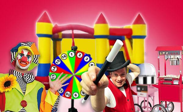 Im Bild: Ballonkünstler zum mieten in der Schweiz für Kinderpartys und dein Fest Strassenkünstler