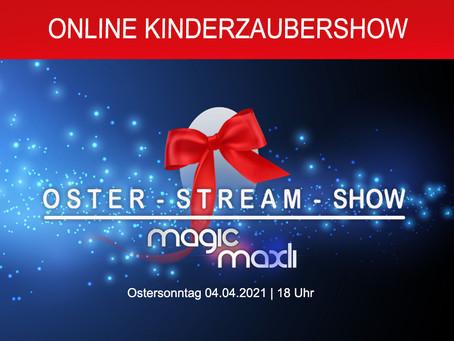 Event Tipp - Live Stream Kinderzaubershow an Ostern